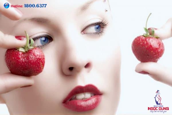 Thâm quầng mắt do thiếu dinh dưỡng