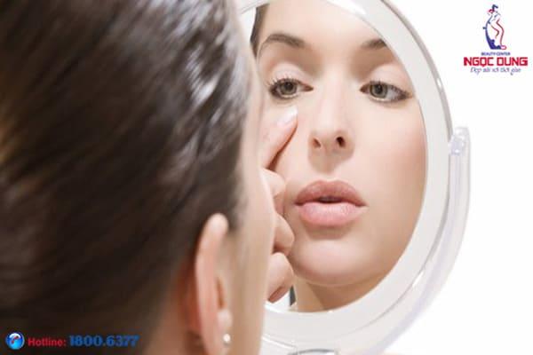 Thâm quầng mắt biểu hiện của bệnh gì