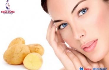 Trị thâm quầng mắt bằng khoai tây – Bí quyết giữ đôi mắt cuốn hút, tươi trẻ