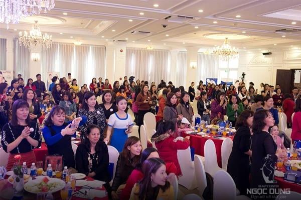 Ngọc Dung Hải Phòng mời 500 khách dự đại tiệc khai xuân