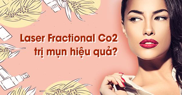 Điều trị mụn bằng laser fractional co2