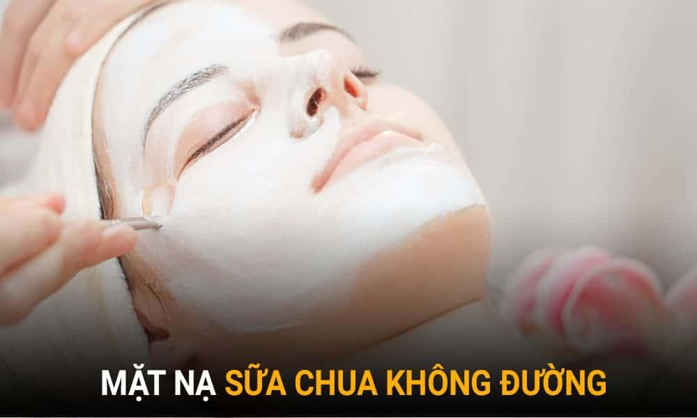 Trị lỗ chân lông to tại nhà bằng mặt nạ sữa chua