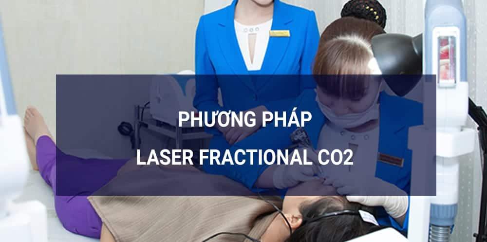 Laser Fractional CO2 trị lỗ chân lông to mụn đầu đen