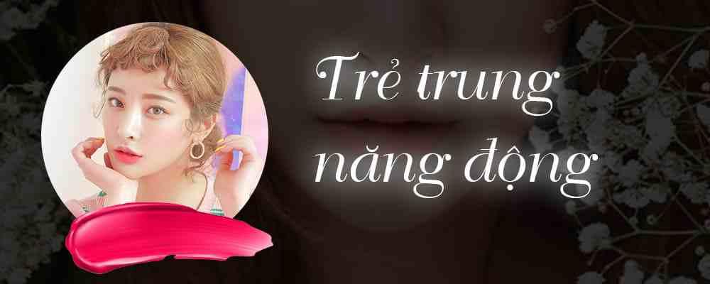phun môi màu hồng cánh sen 1