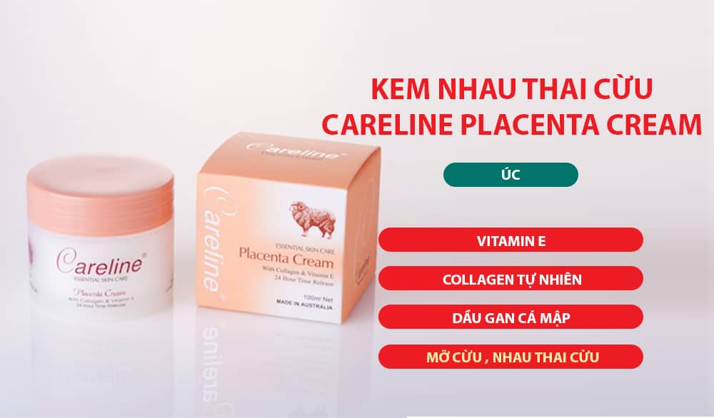 kem trị nám Careline Placenta Cream