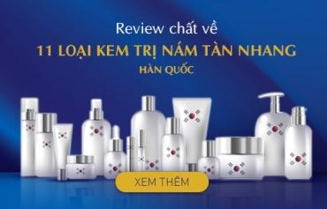 Tổng hợp 11 loại Kem trị nám tàn nhang thương hiệu Hàn Quốc