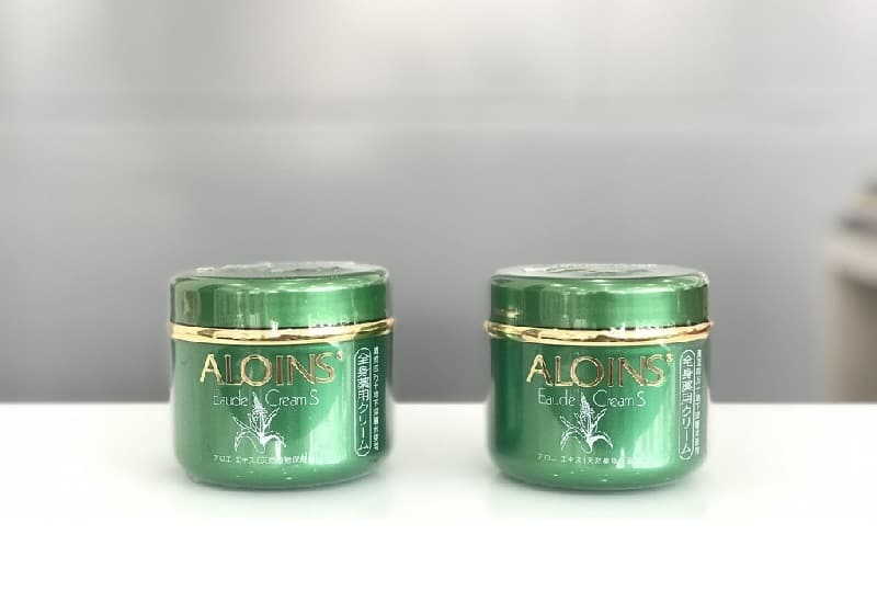 tắm trắng bằng Aloins Eaude Cream S