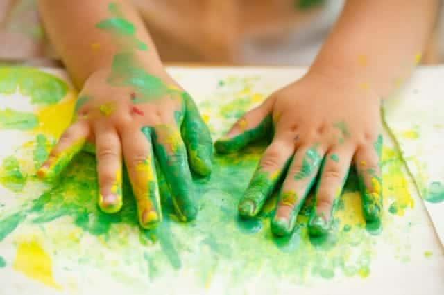 Vẽ bằng ngón tay