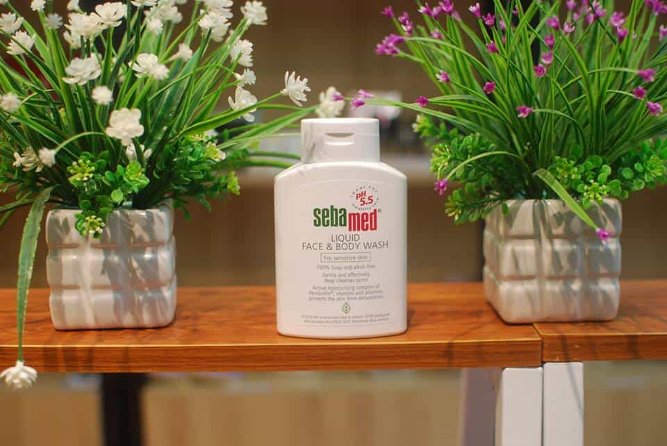 Liquid Face & Body Wash Sebamed