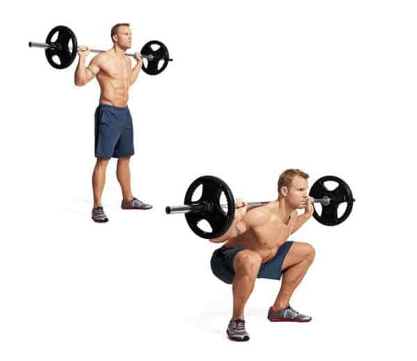 Bài tập cơ chân, squat ngừng