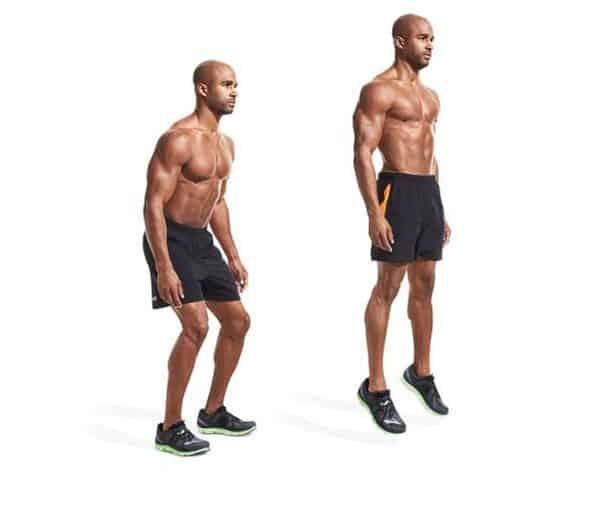 Bài tập nâng bắp chân nhảy