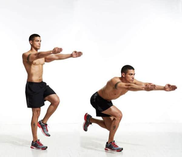 Bài tập squat trượt patanh