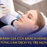 đánh giá dịch vụ trị mụn