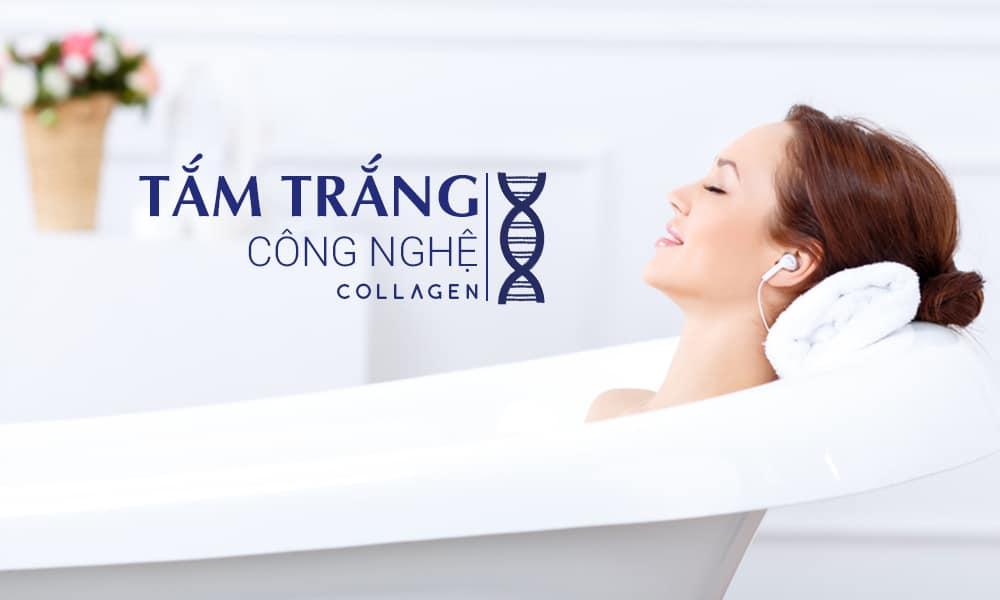 tắm trắng Collagen