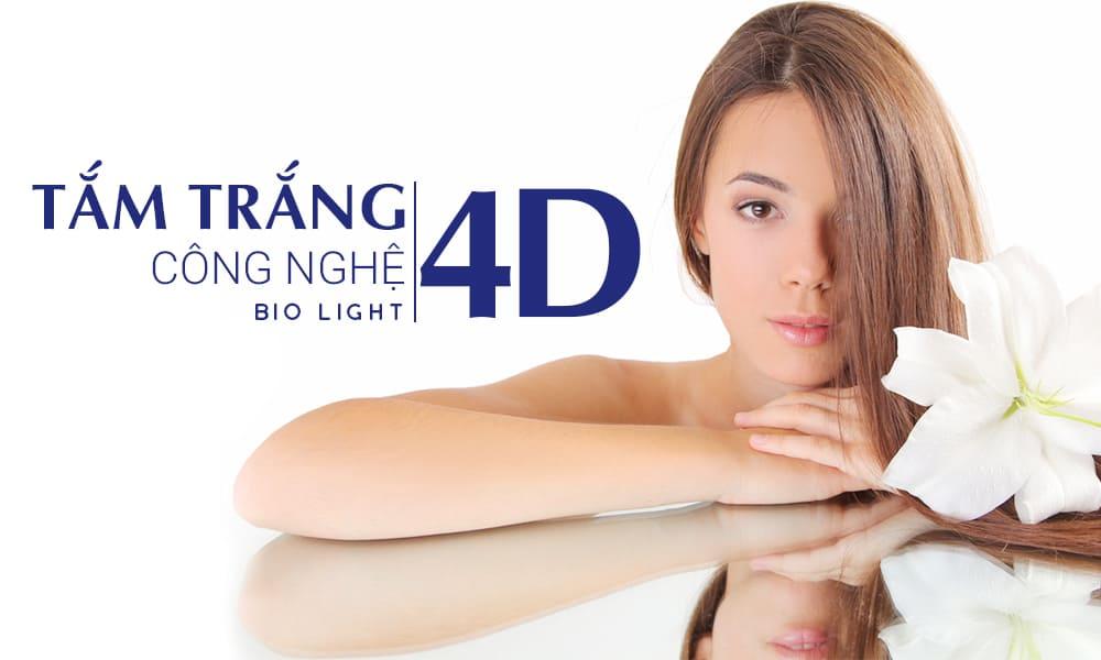 tắm trắng công nghệ tam trang cong nghe Bio Light 4D