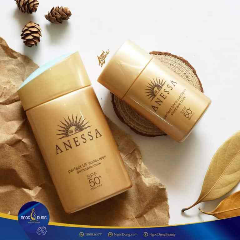 anessa perfect uv sunscreen skincare gel spf50