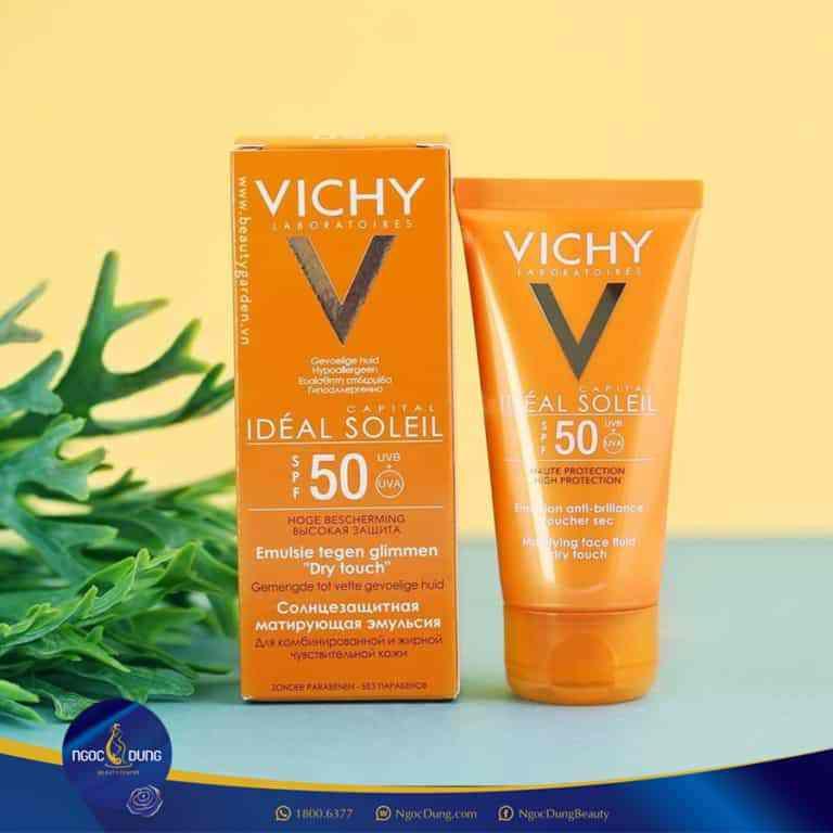 dòng cải thiện nếp nhăn ngăn ngừa oxy hóa ideal soleil spf 50