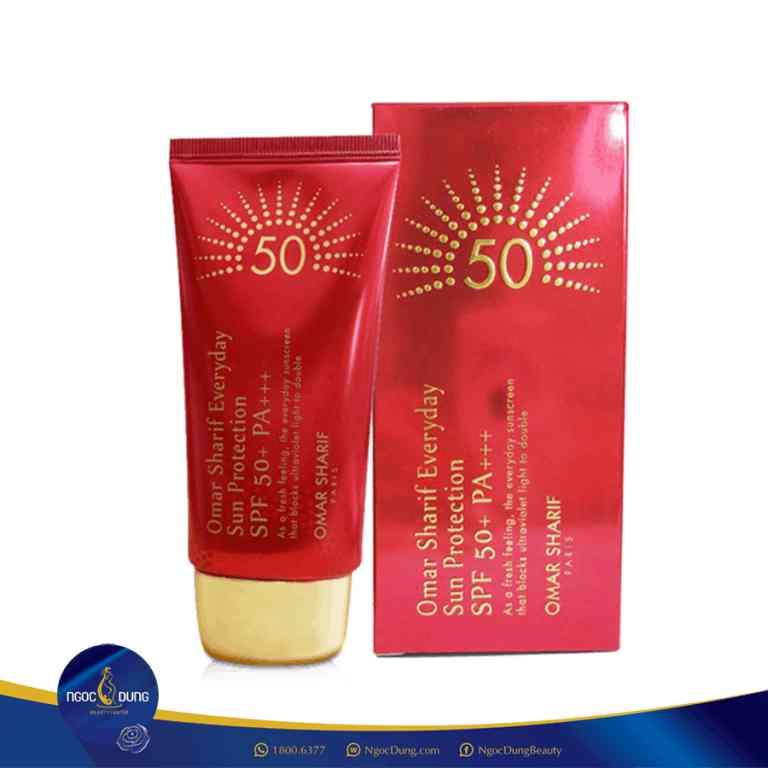 omar sharif everday sun protection