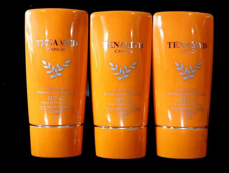 tenamyd green tea protective sunscreen spf
