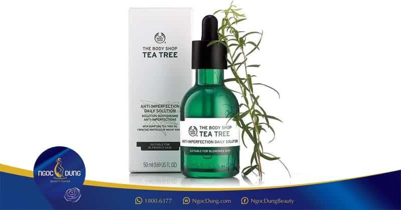 Sản phẩm Tea Tree đặc trị mụn cám