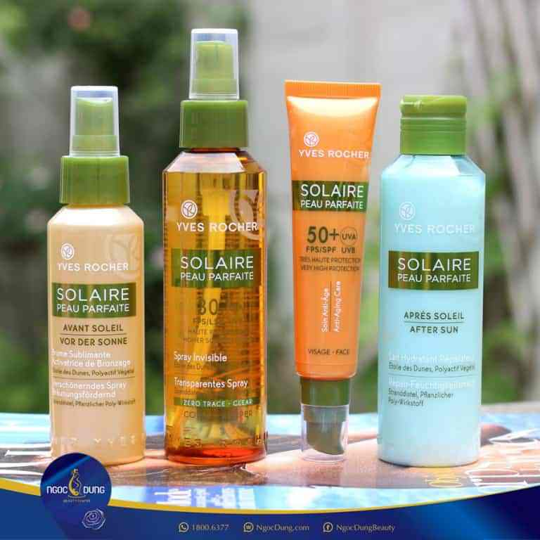 yves rocher solaire peau parfaite anti anging care spf 50