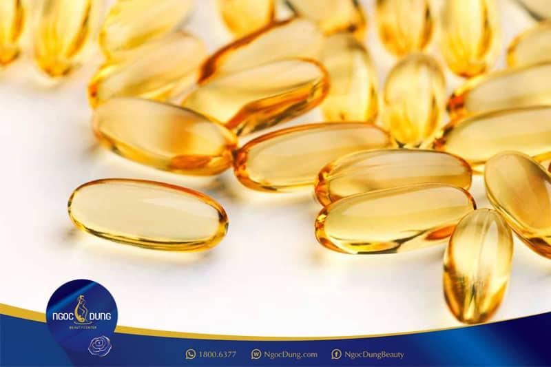 Sử dụng vitamin E trong việc làm đẹp và giảm thâm môi