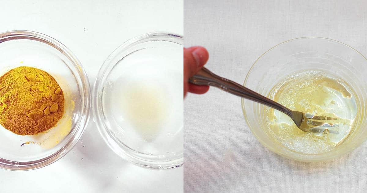 Nước đường dùng tẩy lông tại nhà