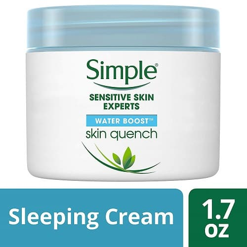 Simple-Water-Boost-Skin-Quench-Sleeping-Cream