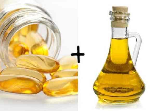 dầu dừa và vitamin e 1