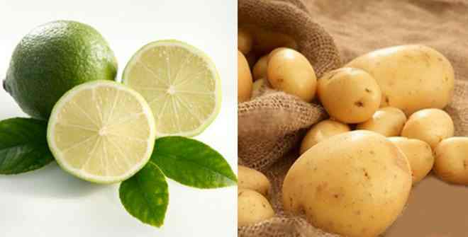 khoai tây và chanh 1