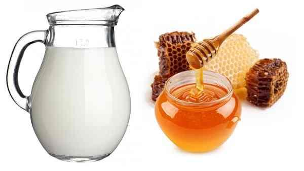 sữa tươi và mật ong 1