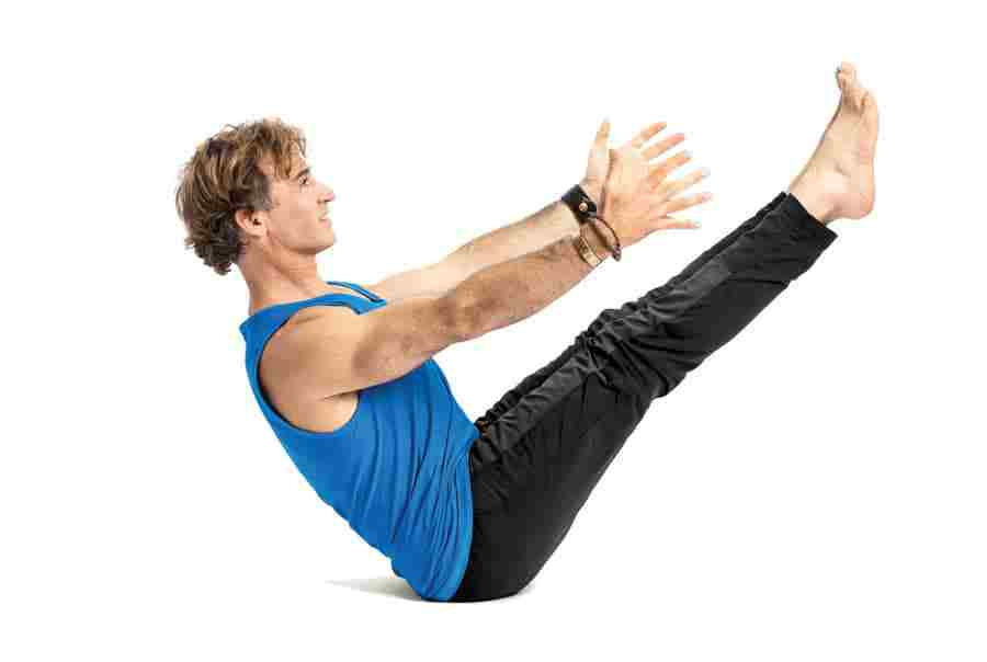 động tác yoga con thuyền giảm mỡ bụng nhanh và hiệu quả
